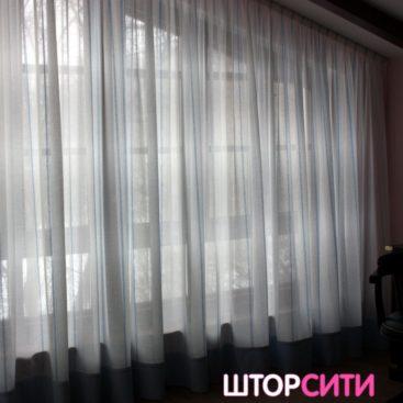 Легкие шторы для гостиной. Пошив штор в ателье Штор Сити