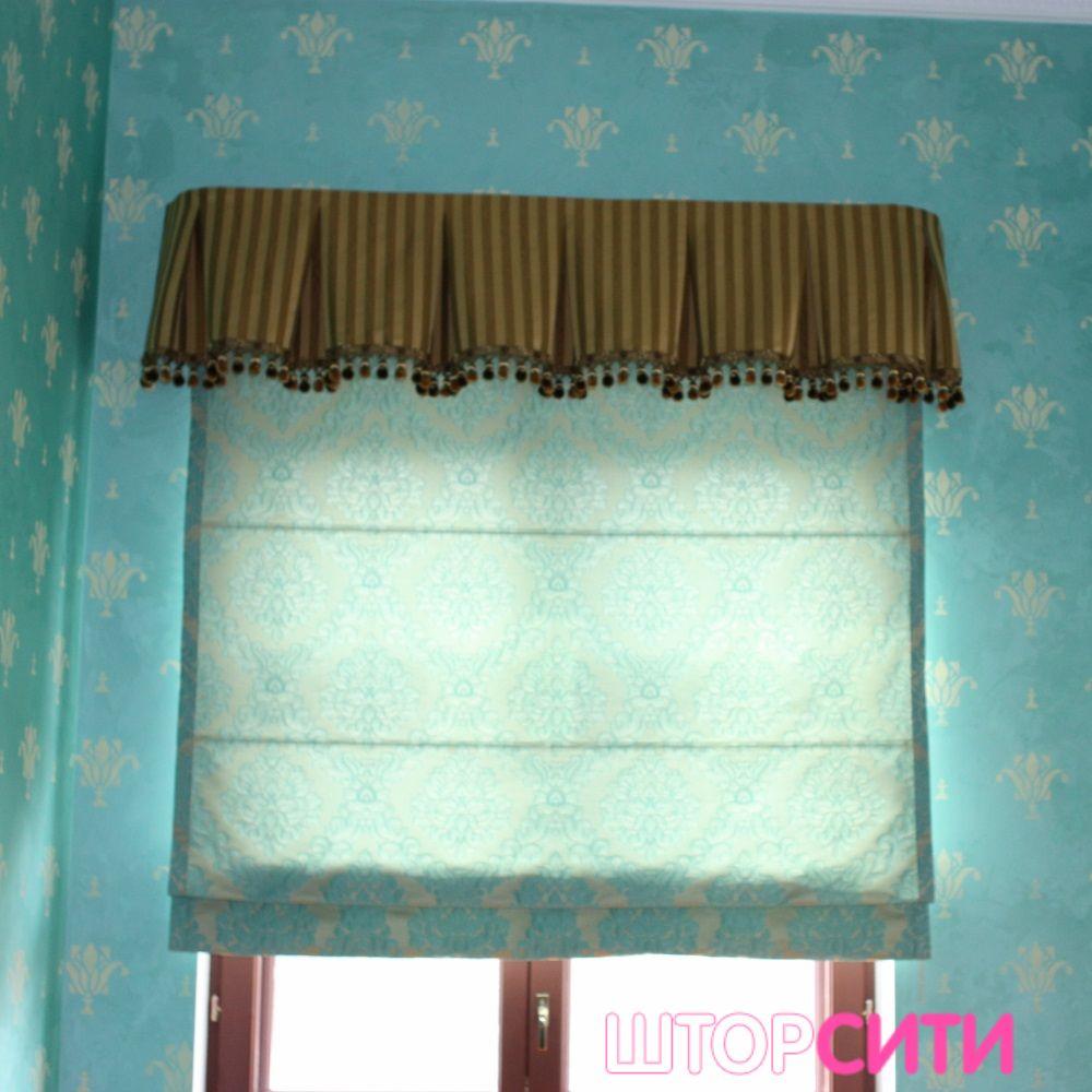 Яркие шторы для гостиной. Пошив штор в ателье Штор Сити