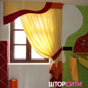 Шторы для ванной. Пошив штор в ателье Штор Сити