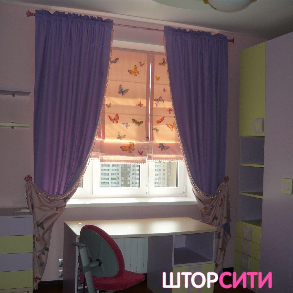 Шторы для детской. Пошив штор в ателье Штор Сити