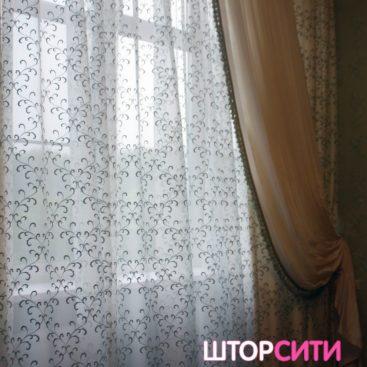 Классические шторы для гостиной ателье Штор Сити