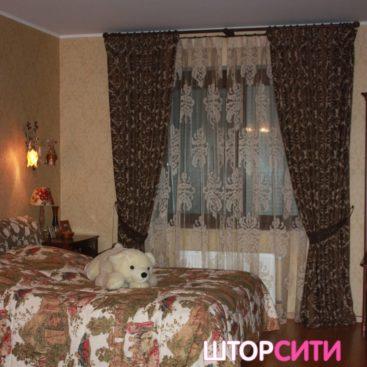 Шторы для спальни. Пошив штор в ателье Штор Сити