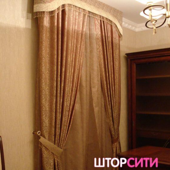 Шторы для гостиной. Пошив штор в ателье Штор Сити